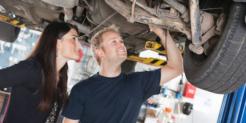 Brakes, Steering & Suspension